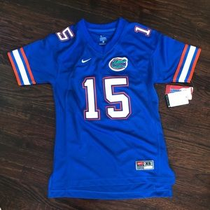 the latest 40d4e ad6e5 Nike UF tim Tebow Florida Jersey NWT